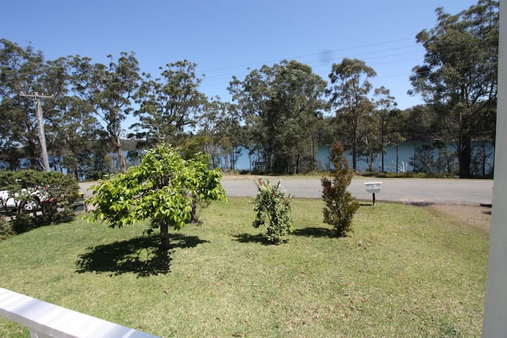 All Serene located directly opposite Berringer Lake frontage.