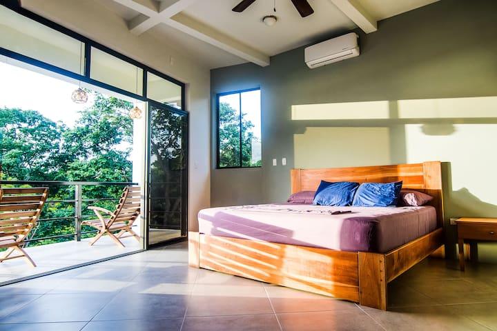 Top Floor - Master Bedroom