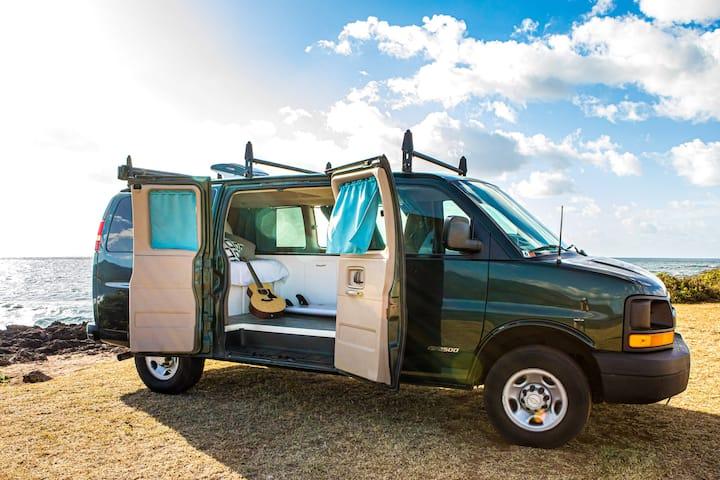 Dreamer --  Luxury Camper Van