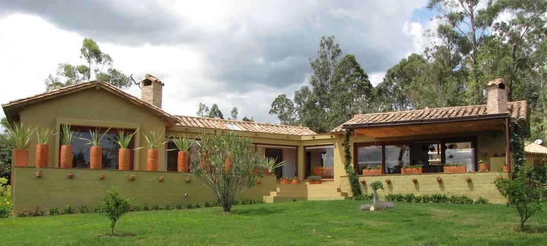 Finca privada Casa del Viento - El Roble - 別荘