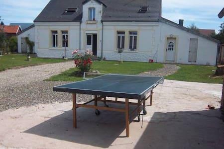chambre axe Peronne-Bapaume - Ytres - House