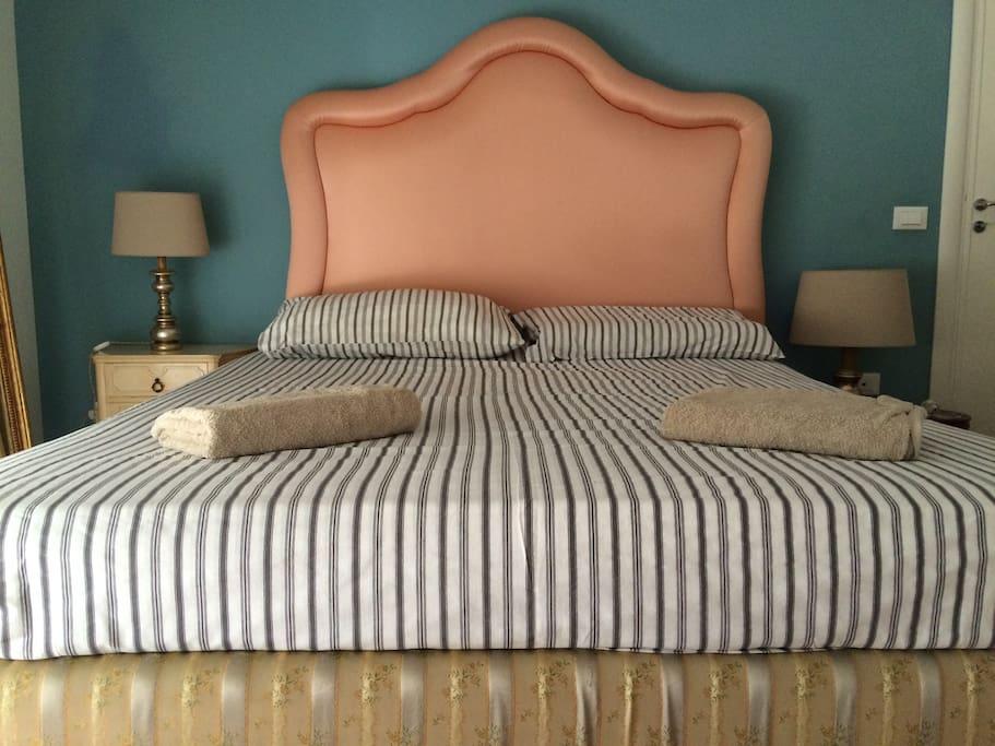 Camera da letto silenziosa ed accogliente