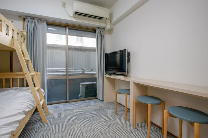 Shinjuku 1stop/FreeWiFi/4mins to Sta./Long stay