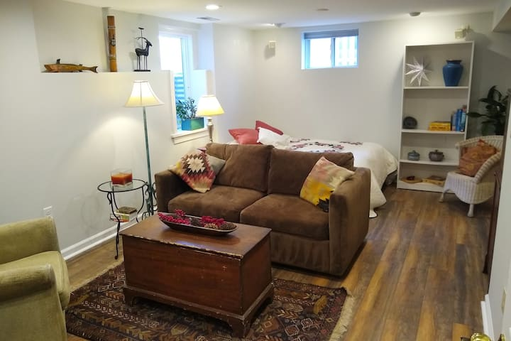Charming Basement Studio in Downtown Silver Spring