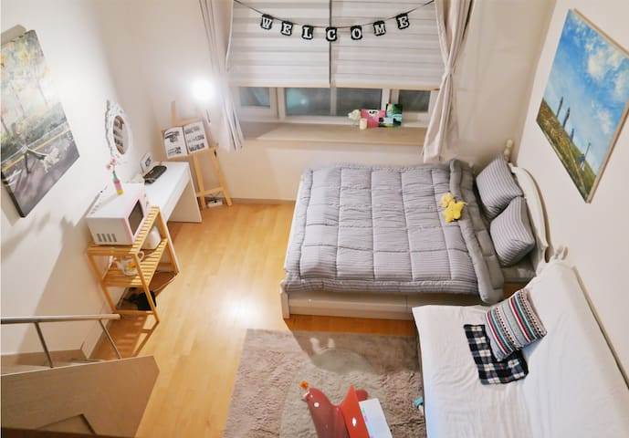 [NEW] Duplex Studio Of Artist 'JW' in Dongdaemun - Dongdaemun-gu - Appartement