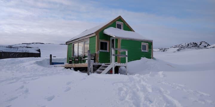 Hytten på Nordlanden #RuthTheArcticCabin