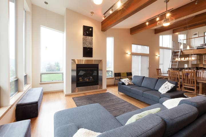 Mountain House - luxury vacation rental in a rural setting with stunning views!
