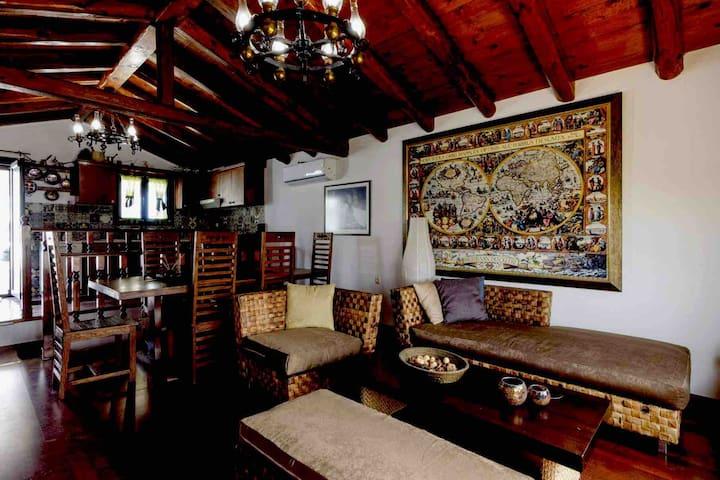 Korina's wood house