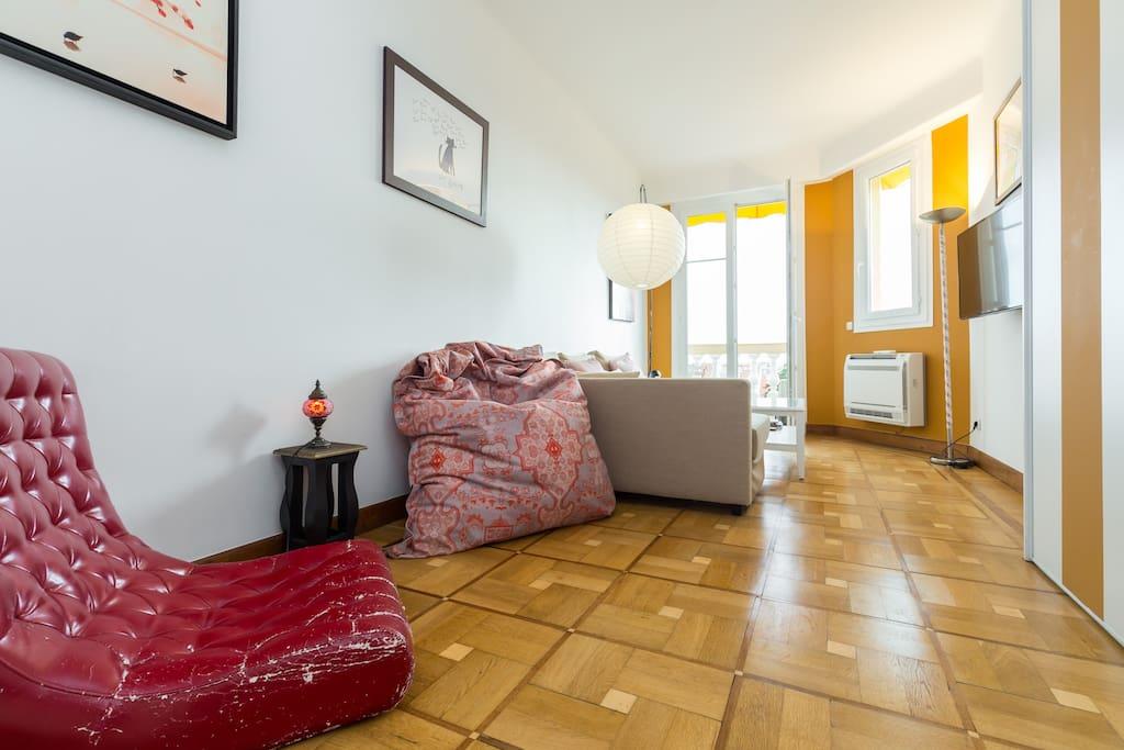 Living room - second bedroom