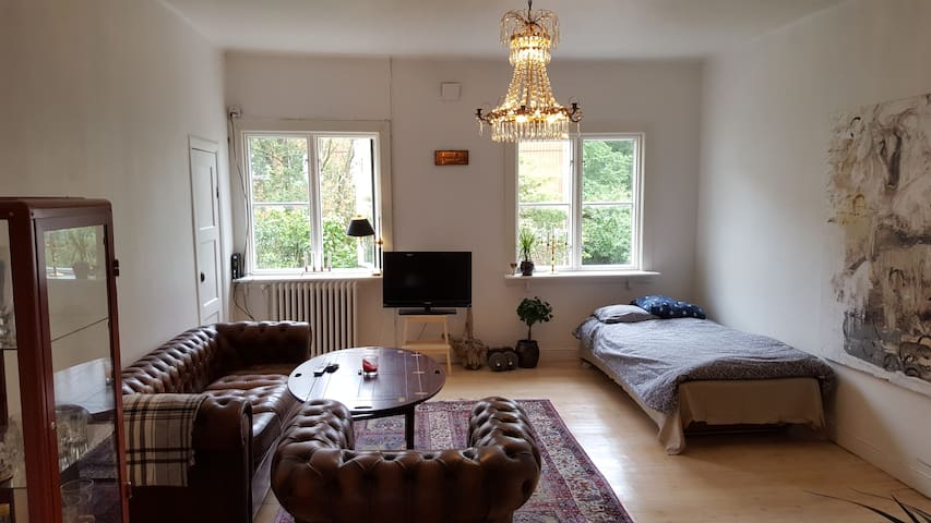 Bright apartment, 2 beds, 6 min from city center - Göteborg - Apartemen