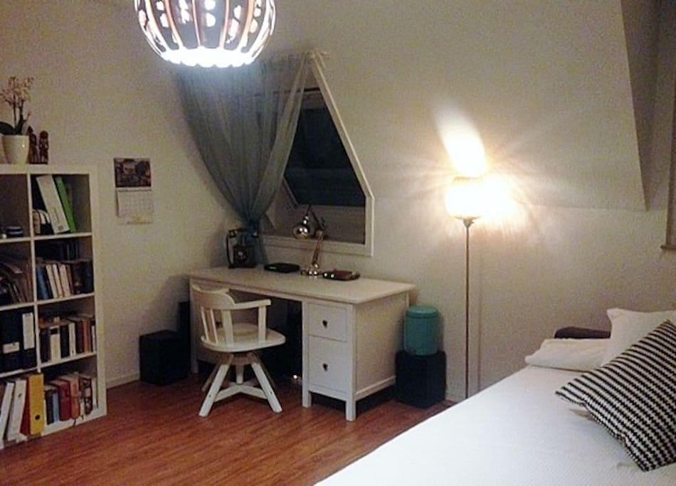 Desk & 2nd Window in the room