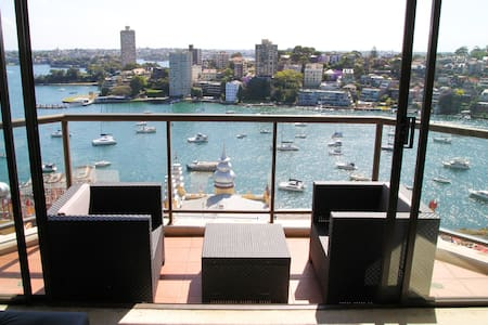 Bright Private Ensuite room w/ Amazing Harbourview - Milsons Point - 公寓