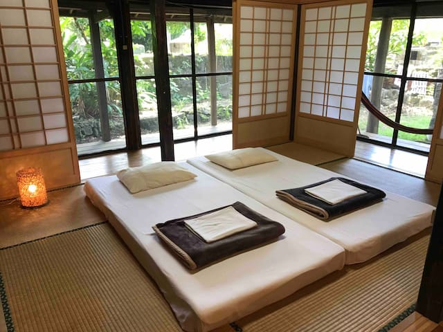 175-year-old Ryukyu Cottage in Zamami:Private room