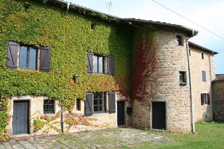 Le Mayet, demeure de charme XVIIème - Olliergues - Haus