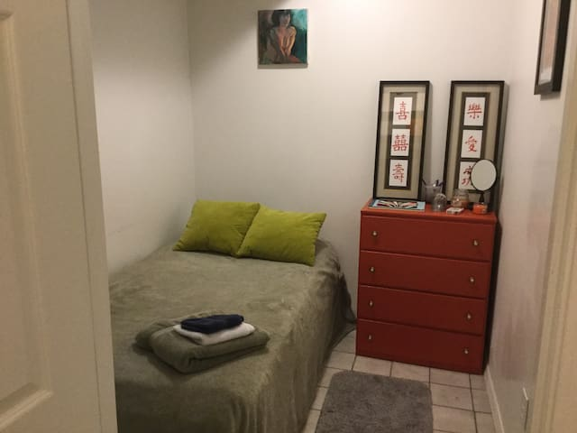 Tiny Bedroom for One by Forest Park - St. Louis