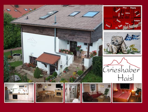 4**** Sterndl Grieshaber Haisl am Soier SÄ - Bad Bayersoien - Bed & Breakfast
