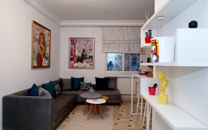 Bel appartement à la Marsa