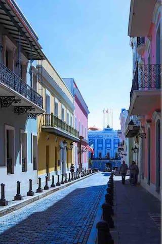 New Historic and Stylish Apt at Calle Fortaleza!