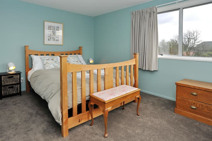 One of the four comfortable bedrooms.