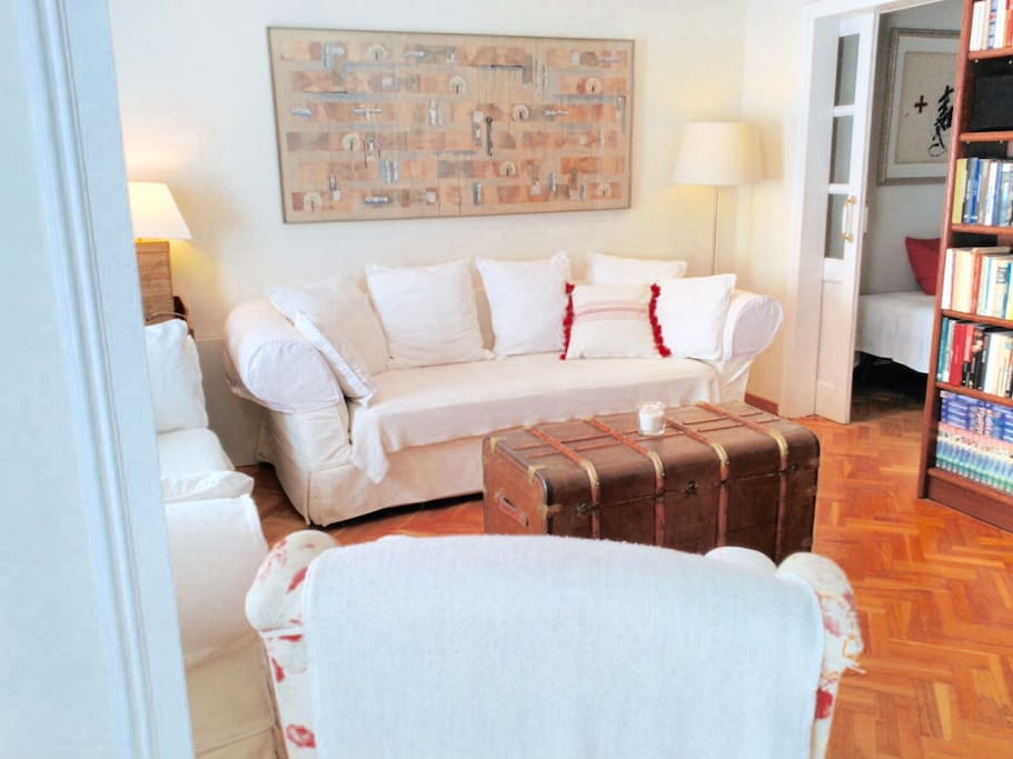 Living room: spacious and confortable
