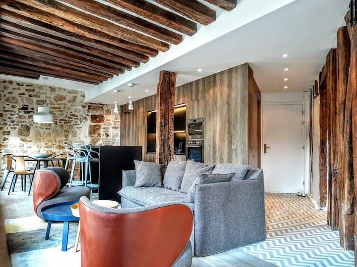 Bastille, Roquette - Très beau loft 2p - 4 pers.