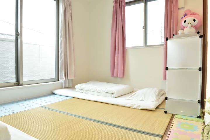 ★(private bedroom) 6min subway from HND.airport