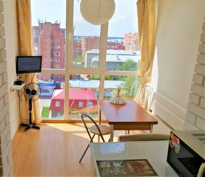 Необычные апартаменты в центре Томска