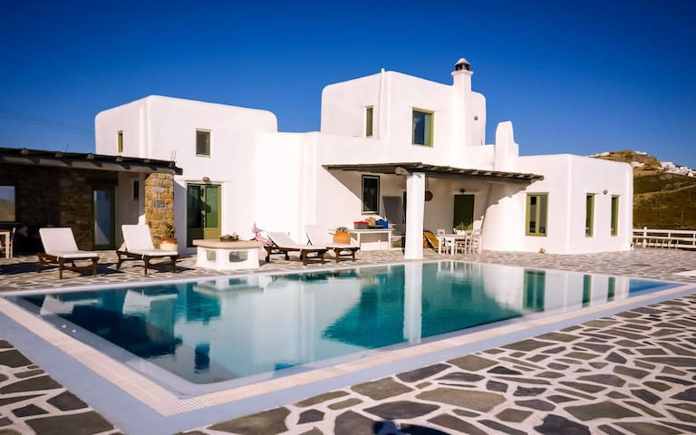 Elegant Villa - Sunset with pool! - Faros Armenistis - Villa