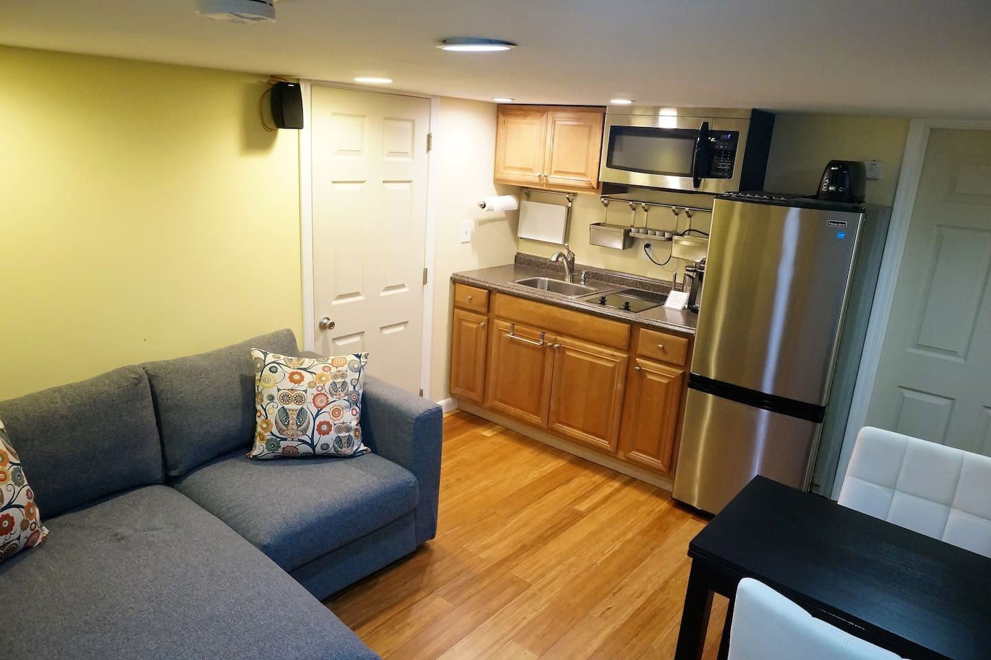 Basement Suite with Kitchenette