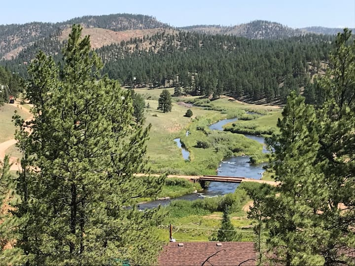Mountain Home Paradise Fish, Hike, ATV or Relax,