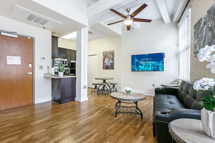 Walk to French Quarter. Modern cozy condo