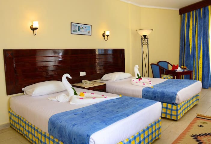 Executive room in resort Marsa Alam ****