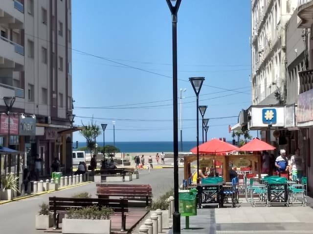 Vacaciones de verano en el corazón de la playa