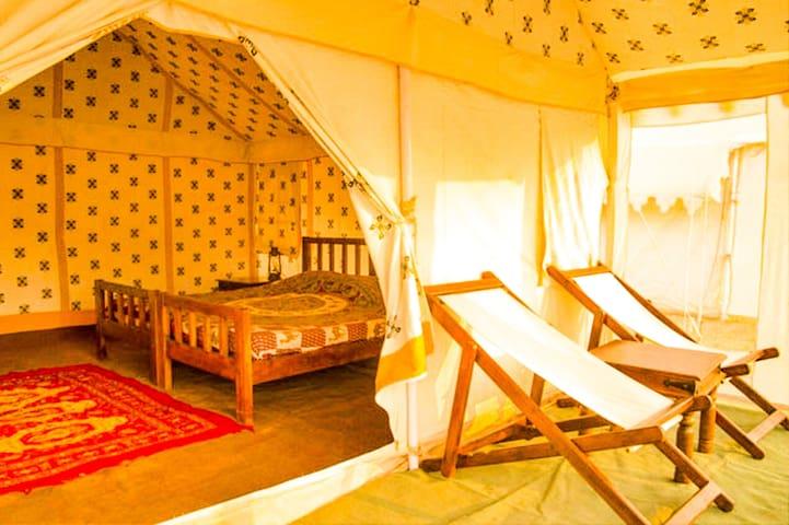 Swiss Luxury Tents for 2-Jaisalmer
