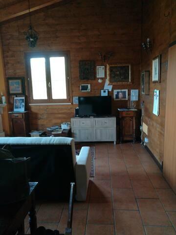 Casa di legno anti sismica