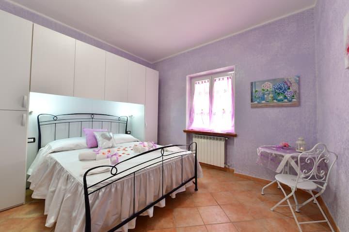 B&B Roman Country Villa - Stanza Ortensia