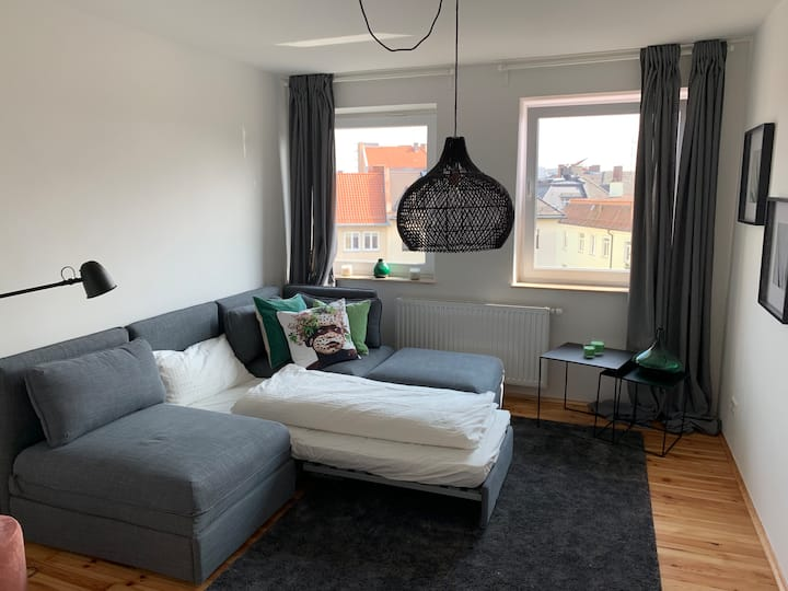 Quiet Guest Room in Munich's trendiest Area