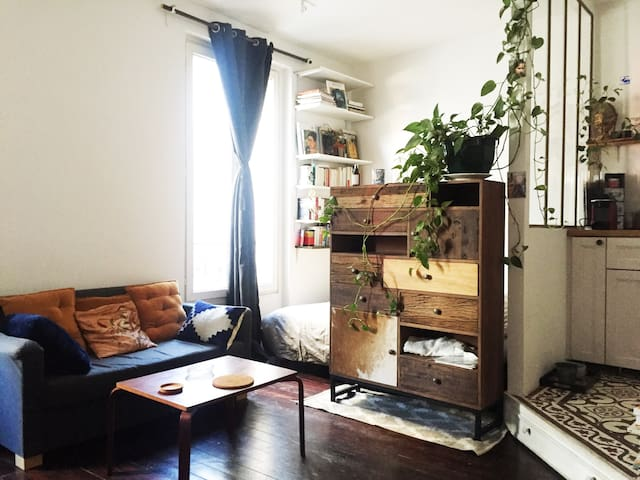 Green and charming flat in Paris - Paris