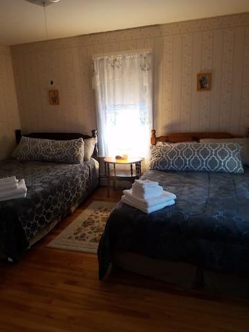 100 Mile Wilderness Inn Room 4