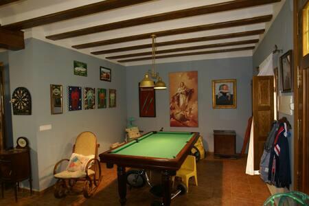 Casa Rural con billar,chimenea ideal para familias - Sumacàrcer