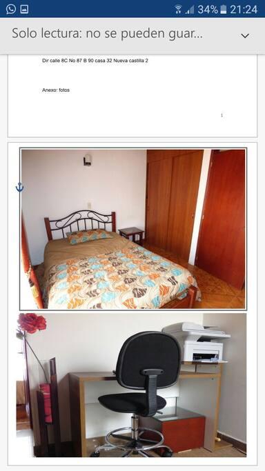 cama para una pareja