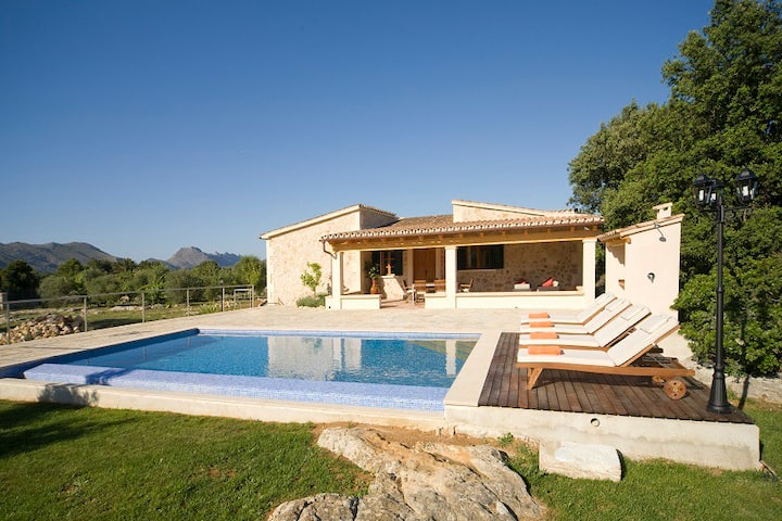 Catalunya Casas: Villa Ponta for 4 guests just 1.4 km from Old Town Pollensa!