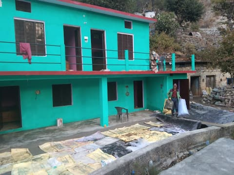 lap of Himalayas & live in Garhwali culture