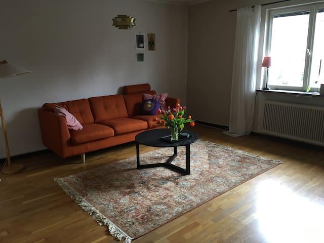 Stor lägenhet i lugnt område - Borås - Apartamento