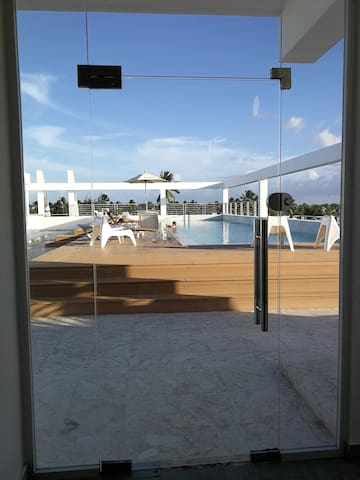 ☀️True Cost Penthouse  With RoofTop Pool 2P  ☀️
