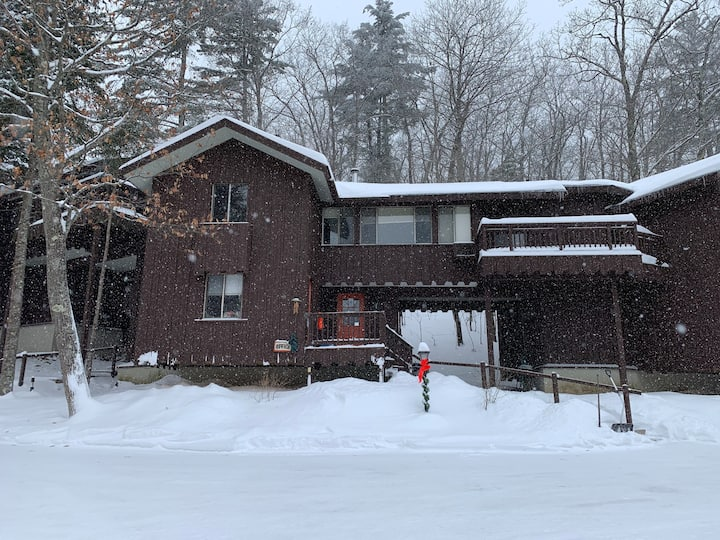 Great outdoor retreat in the North Woods.