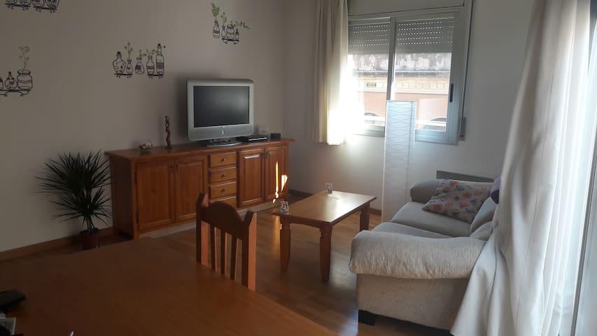 Habitación en piso acogedor en el centro de Reus - Reus - Apartamento