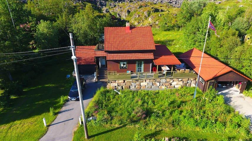 Villa Hokland, Hadsel,  Norge, Singelt familiehjem