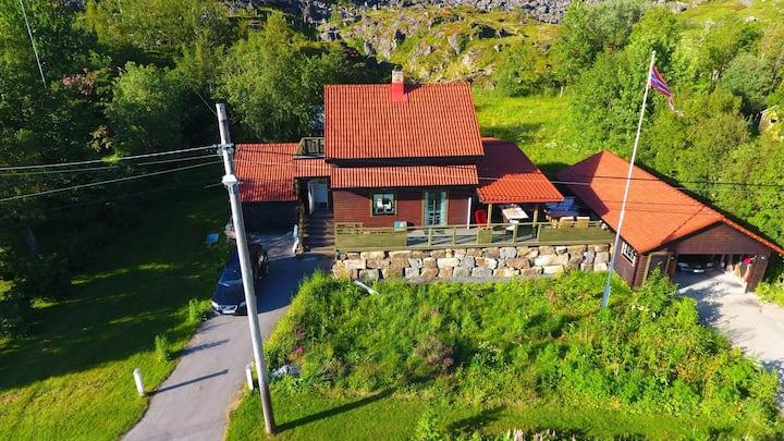 "Country house  ""Villa Hokland"" , Melbu Norway"