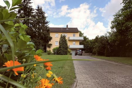 Sunny countryhouse flat with balcony and garden - Kitzingen - Дом